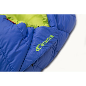 Carinthia G 180 Sac de couchage L, blue/lime